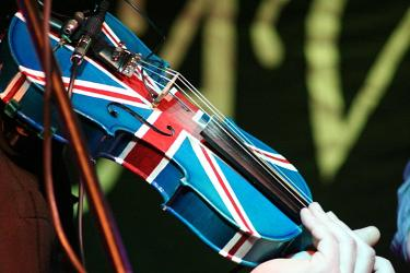 Union Jack Fiddle